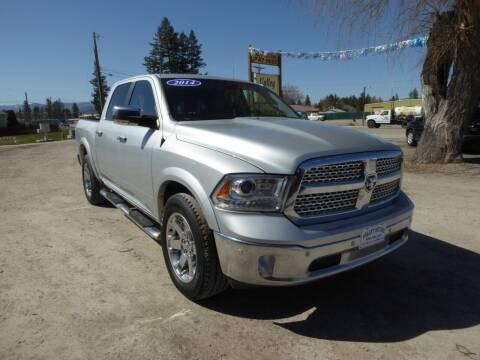 2014 RAM Ram Pickup 1500 for sale at VALLEY MOTORS in Kalispell MT