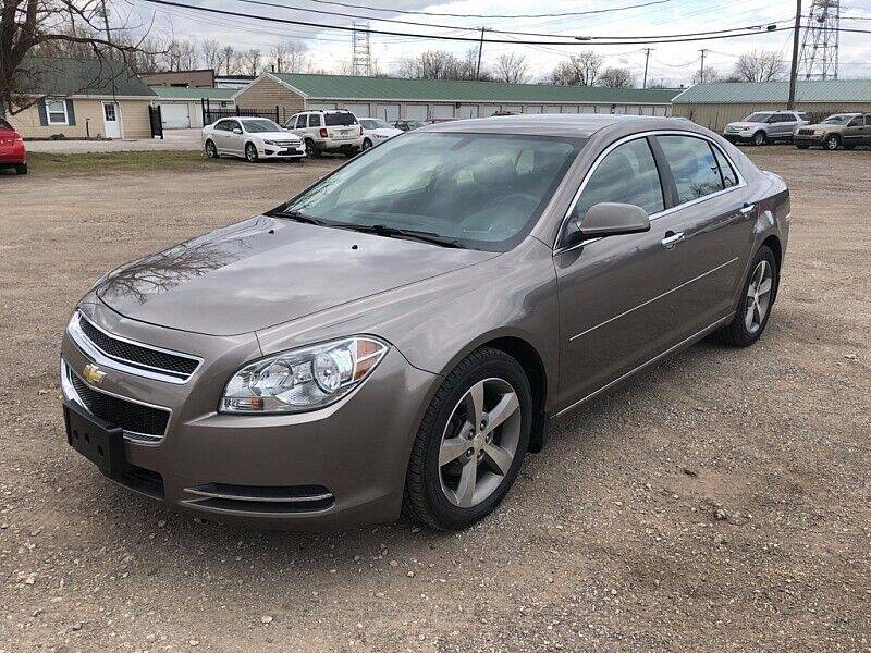 2012 Chevrolet Malibu for sale at CItywide Auto Credit in Oregon OH