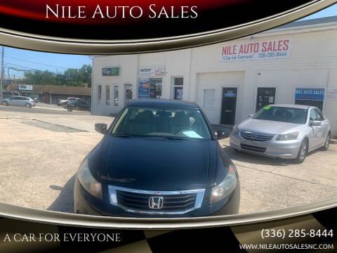 2010 Honda Accord for sale at Nile Auto Sales in Greensboro NC
