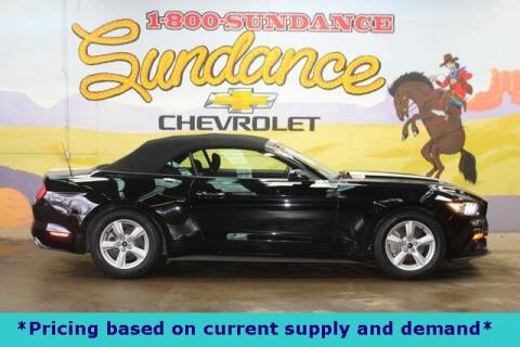 2017 Ford Mustang for sale at Sundance Chevrolet in Grand Ledge MI