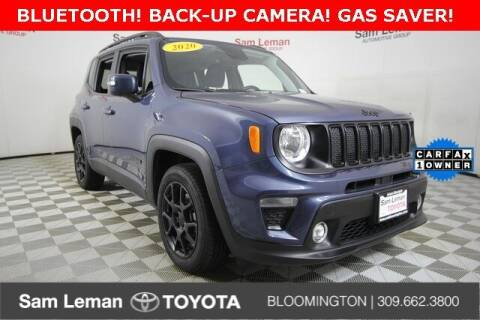 2020 Jeep Renegade for sale at Sam Leman Toyota Bloomington in Bloomington IL
