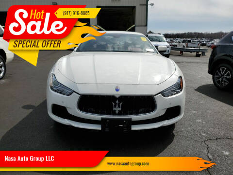 2015 Maserati Ghibli for sale at Nasa Auto Group LLC in Passaic NJ