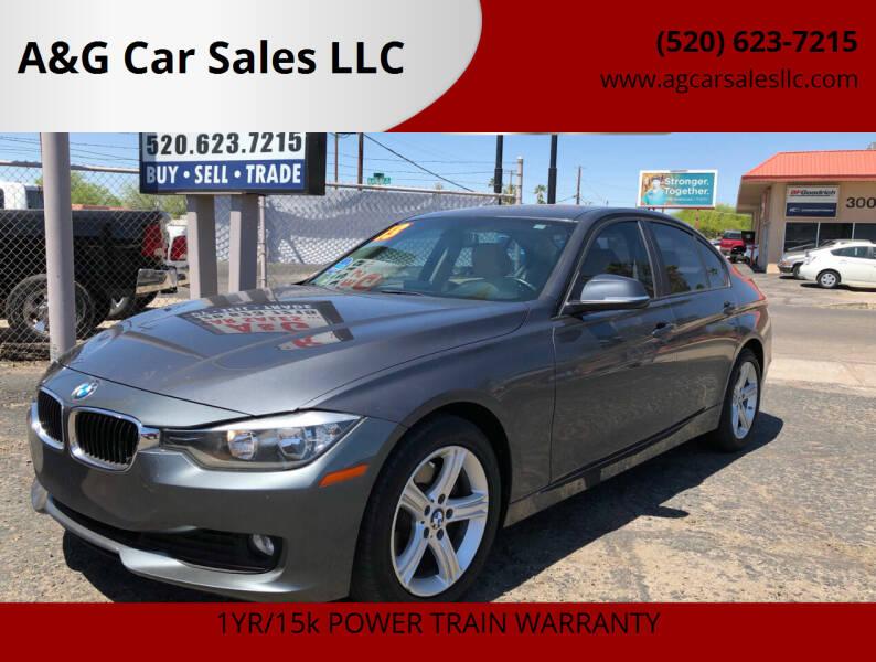 2013 BMW 3 Series for sale at A&G Car Sales  LLC in Tucson AZ