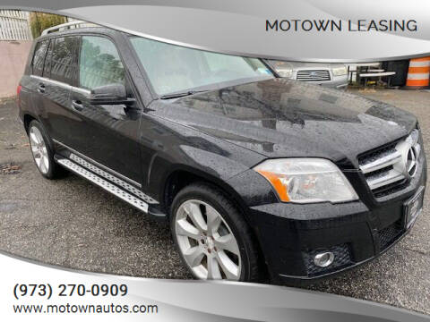 2010 Mercedes-Benz GLK for sale at Motown Leasing in Morristown NJ