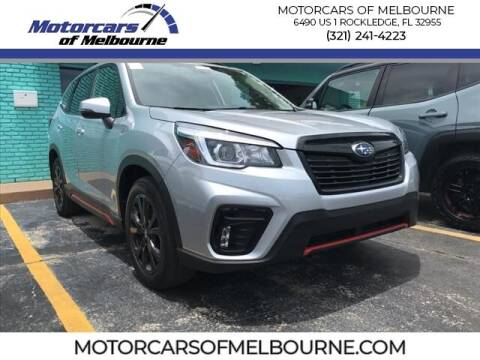 2019 Subaru Forester for sale at Motorcars of Melbourne in Rockledge FL