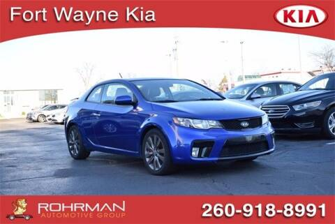 2012 Kia Forte Koup for sale at BOB ROHRMAN FORT WAYNE TOYOTA in Fort Wayne IN