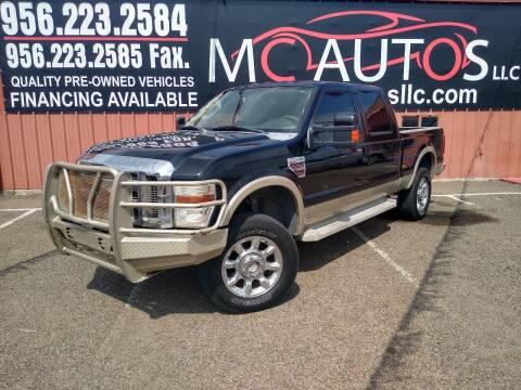 2008 Ford F-250 Super Duty for sale at MC Autos LLC in Pharr TX