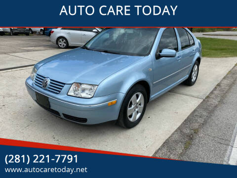 2005 Volkswagen Jetta for sale at AUTO CARE TODAY in Spring TX