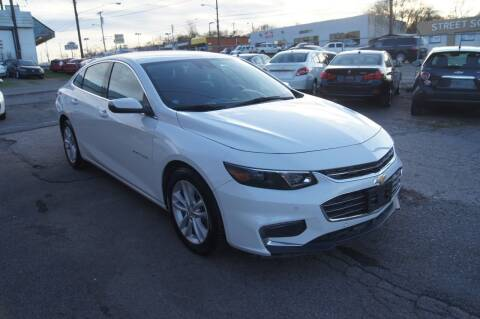 2018 Chevrolet Malibu for sale at Green Ride Inc in Nashville TN