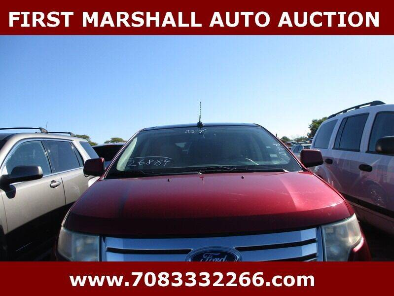 2007 Ford Edge AWD SEL Plus 4dr Crossover - Harvey IL