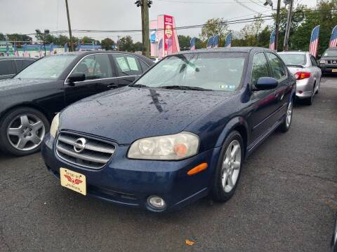2003 Nissan Maxima for sale at P J McCafferty Inc in Langhorne PA
