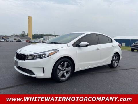 2018 Kia Forte for sale at WHITEWATER MOTOR CO in Milan IN