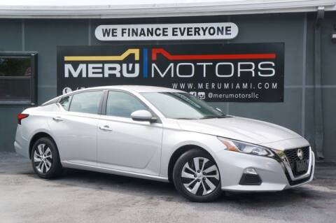 2020 Nissan Altima for sale at Meru Motors in Hollywood FL