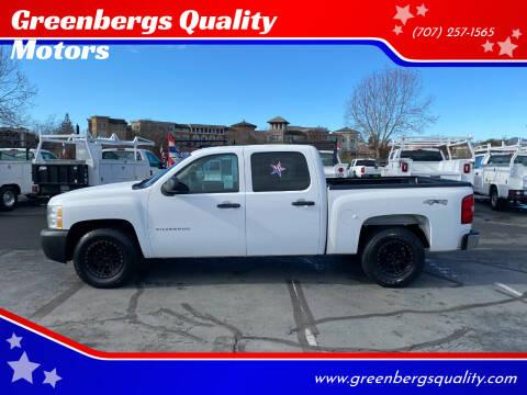 2013 Chevrolet Silverado 1500 for sale at Greenbergs Quality Motors in Napa CA