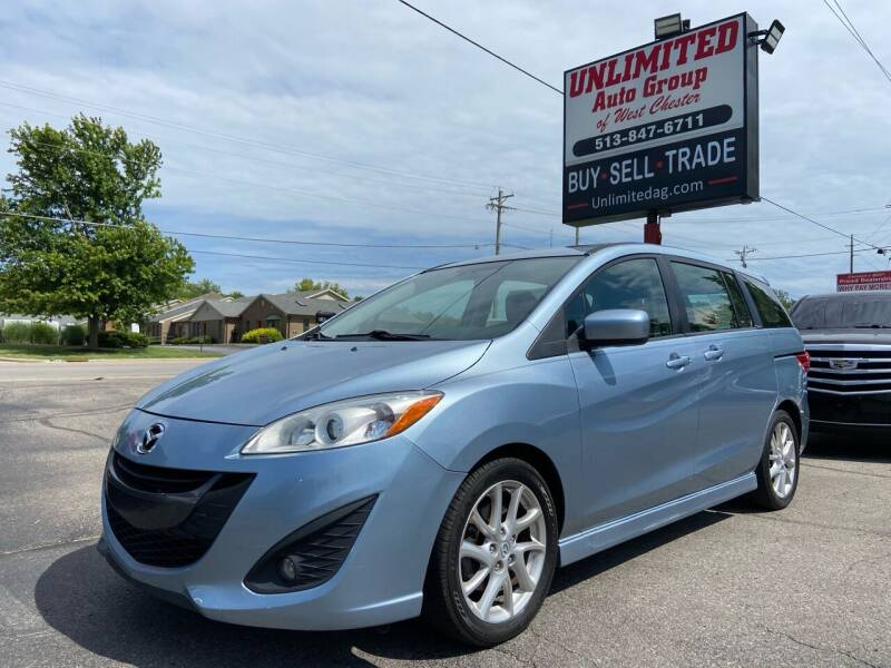 2012 Mazda MAZDA5 for sale at Unlimited Auto Group in West Chester OH