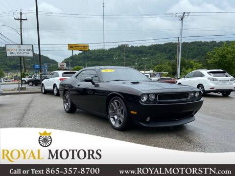 2013 Dodge Challenger for sale at ROYAL MOTORS LLC in Knoxville TN