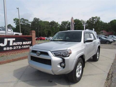 2016 Toyota 4Runner for sale at J T Auto Group in Sanford NC