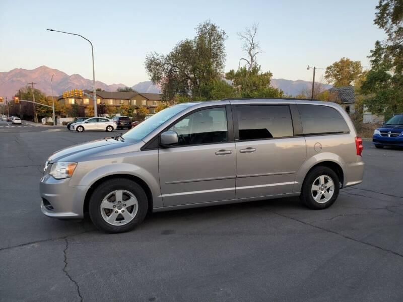 2013 Dodge Grand Caravan for sale at UTAH AUTO EXCHANGE INC in Midvale UT