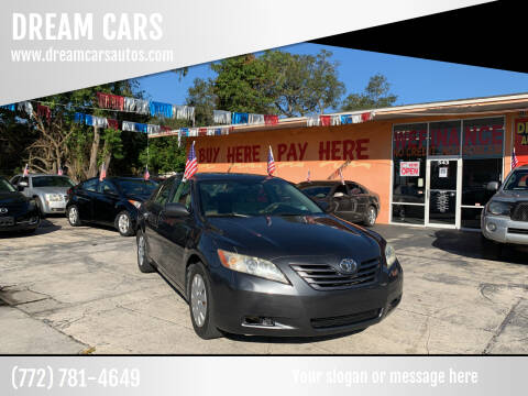 2007 Toyota Camry for sale at DREAM CARS in Stuart FL