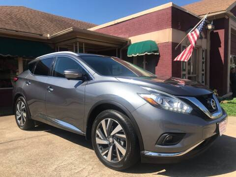 2015 Nissan Murano for sale at Firestation Auto Center in Tyler TX