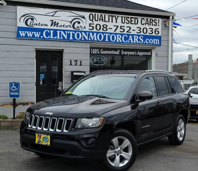 2015 Jeep Compass for sale at Clinton MotorCars in Shrewsbury MA