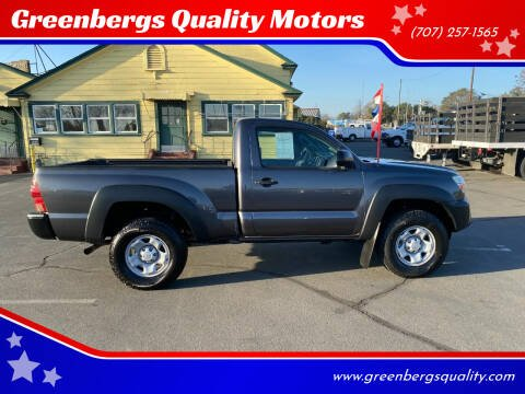 2013 Toyota Tacoma for sale at Greenbergs Quality Motors in Napa CA