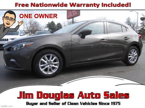 2014 Mazda MAZDA3 for sale at Jim Douglas Auto Sales in Pontiac MI