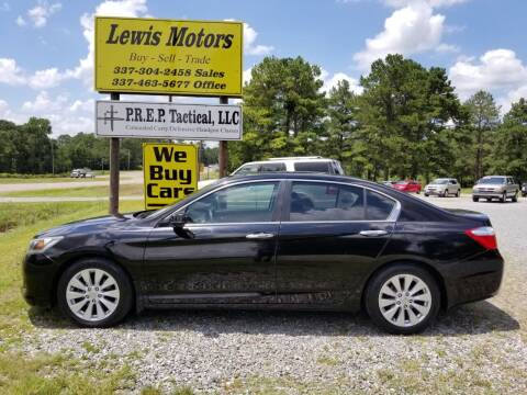 2014 Honda Accord for sale at Lewis Motors LLC in Deridder LA