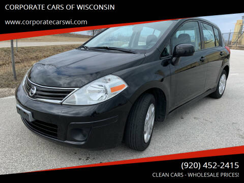 2010 Nissan Versa for sale at CORPORATE CARS OF WISCONSIN - DAVES AUTO SALES OF SHEBOYGAN in Sheboygan WI