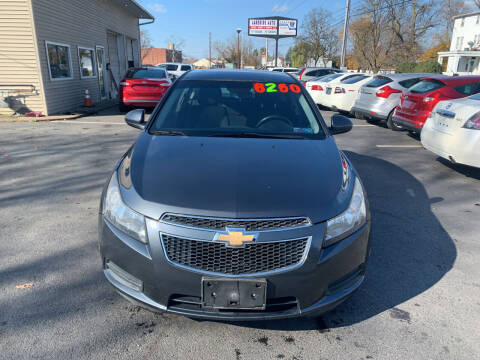 2013 Chevrolet Cruze for sale at Roy's Auto Sales in Harrisburg PA