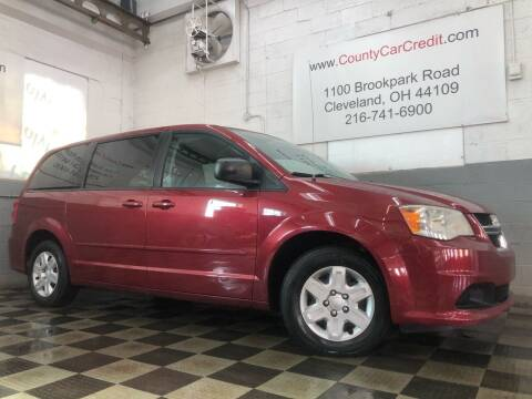 2011 Dodge Grand Caravan for sale at County Car Credit in Cleveland OH