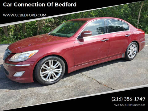 2013 Hyundai Genesis for sale at Car Connection of Bedford in Bedford OH