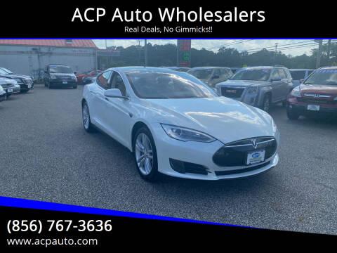 2014 Tesla Model S for sale at ACP Auto Wholesalers in Berlin NJ