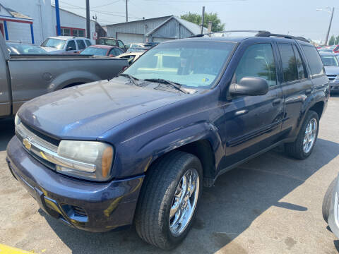 2007 Chevrolet TrailBlazer for sale at Cliff's Qualty Auto Sales in Spokane WA