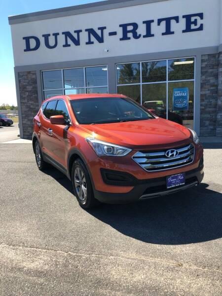 2016 Hyundai Santa Fe Sport for sale at Dunn-Rite Auto Group in Kilmarnock VA