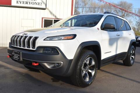 2015 Jeep Cherokee for sale at Dealswithwheels in Inver Grove Heights MN