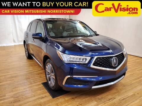 2018 Acura MDX for sale at Car Vision Mitsubishi Norristown in Trooper PA