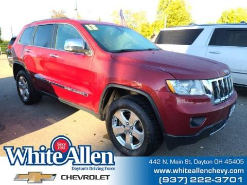 2013 Jeep Grand Cherokee for sale at WHITE-ALLEN CHEVROLET in Dayton OH