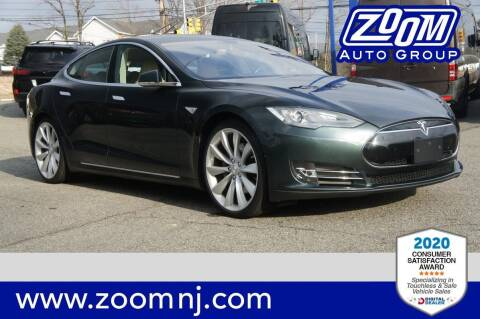 2014 Tesla Model S for sale at Zoom Auto Group in Parsippany NJ