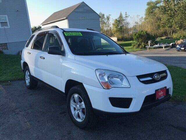 2009 Kia Sportage for sale at FUSION AUTO SALES in Spencerport NY