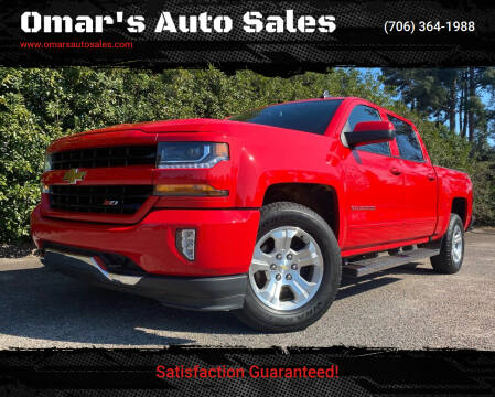 2018 Chevrolet Silverado 1500 for sale at Omar's Auto Sales in Martinez GA