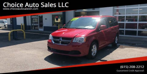 2013 Dodge Grand Caravan for sale at Choice Auto Sales LLC - Cash Inventory in White House TN