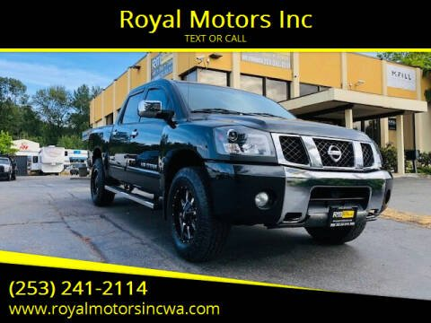 2006 Nissan Titan for sale at Royal Motors Inc in Kent WA