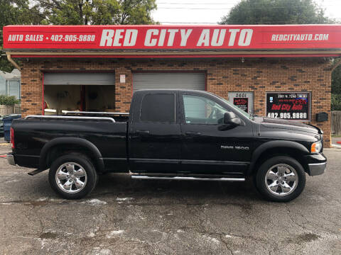 2003 Dodge Ram Pickup 1500 for sale at Red City  Auto in Omaha NE