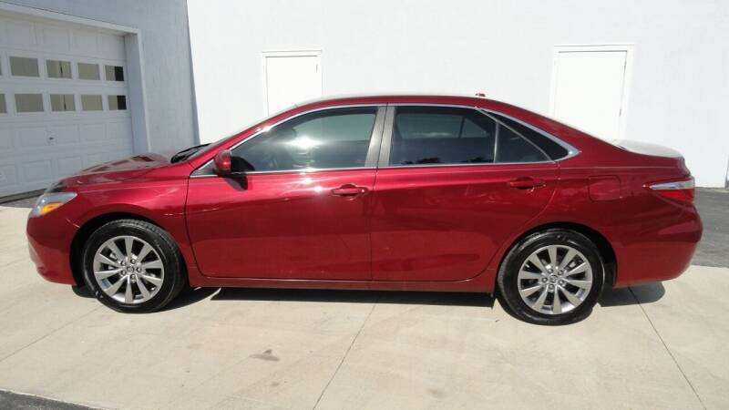 2017 Toyota Camry for sale at WRIGHT'S in Hillsboro KS