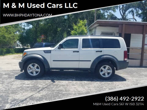 2007 Dodge Nitro for sale at M & M Used Cars LLC in Daytona Beach FL