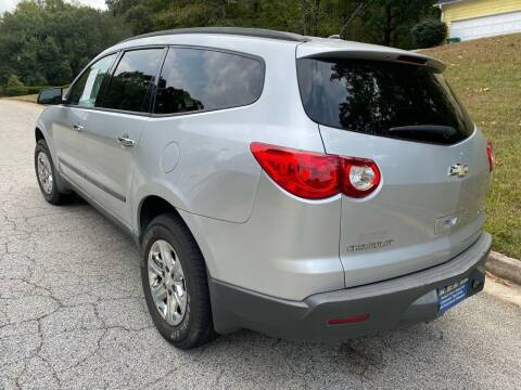 2009 Chevrolet Traverse for sale at Palmer Automobile Sales in Decatur GA