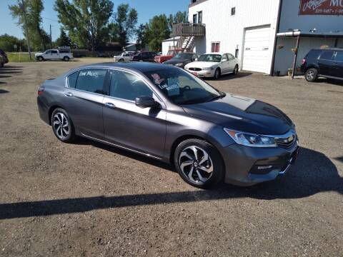 2017 Honda Accord for sale at Ron Lowman Motors Minot in Minot ND