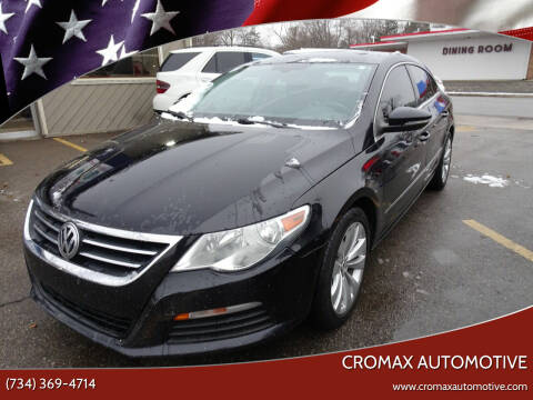 2012 Volkswagen CC for sale at Cromax Automotive in Ann Arbor MI