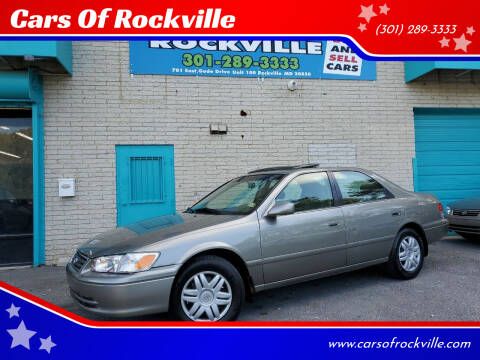 2000 Toyota Camry for sale at Cars Of Rockville in Rockville MD